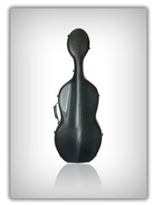 Musilia S1 Black Cello Case (Strad model )